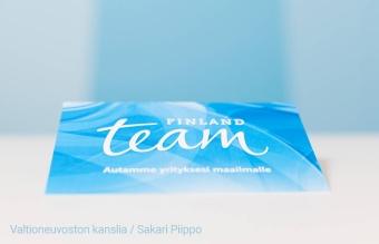 Team Finland auttaa yrityksiä maailmalle